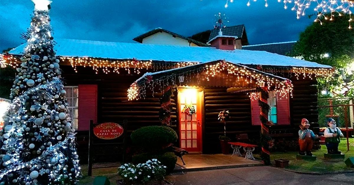 Casa do Papai Noel em Penedo