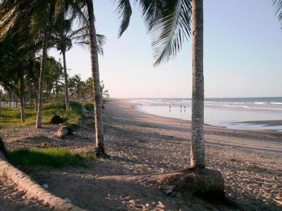 A Praia das Dunas, em Conceição da Barra